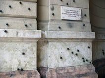 Minnesmärke till offren av Oktober 25, 1956? Fotografering för Bildbyråer