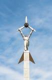 Minnesmärke till soldaterna av världskrig II Royaltyfri Fotografi