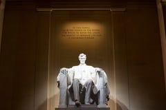 minnesmärke USA washington för c D lincoln C Royaltyfri Bild