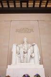 minnesmärke washington för dc lincoln Royaltyfria Foton