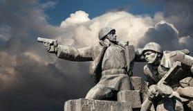 Minnesmärke WW2 i Kiev Royaltyfri Foto