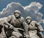Minnesmärke WW2 i Kiev Royaltyfri Fotografi