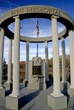 Minnesmärke WW1 på Cedar City Utah Arkivfoton