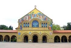 Minnesmärkekyrka på Stanford University Fotografering för Bildbyråer