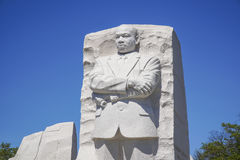 Minnesmärken av Martin Luther King i Washington DC - WASHINGTON DC - COLUMBIA - APRIL 7, 2017 Royaltyfri Foto