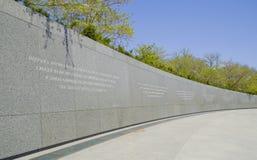 Minnesmärken av Martin Luther King i Washington DC - WASHINGTON DC - COLUMBIA - APRIL 7, 2017 Arkivfoton