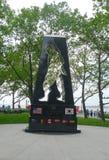 Minnesmärken för det koreanska kriget i batteri parkerar Royaltyfri Bild