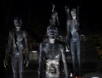 Minnesmärken till offren av kommunism på Petrinen royaltyfri foto