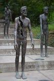 Minnesmärken till offren av kommunism, Prague arkivbild