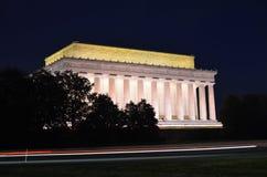 minnesmärke USA washington för abraham dc lincoln Fotografering för Bildbyråer