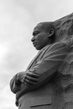 Minnesmärke av Martin Luther King Arkivbild