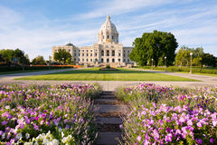 Minnesota Capital Garden Royalty Free Stock Images