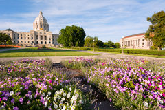 Minnesota Capital Garden Stock Photography