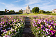 Minnesota Capital Garden Royalty Free Stock Photo