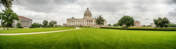 Minnesota Capitol Building Saint Paul. Minnesota Capitol Building and campus grounds, Saint Paul, MN Royalty Free Stock Images