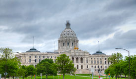 Minnesota capitol building in St. Paul, MN Royalty Free Stock Photos