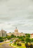 Minnesota capitol building in St. Paul, MN Stock Images