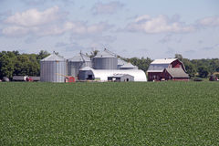 A Minnesota Farm Site Stock Photos