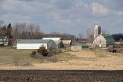 A Minnesota Farm Site Stock Photography