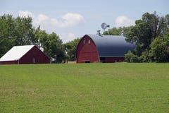 A Minnesota Farm Site Stock Photos
