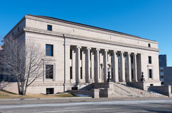 Minnesota Judicial Center Building. Former home of minnesota historical society adjacent to state capitol royalty free stock photos