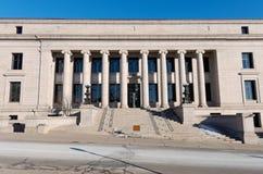 Minnesota Judicial Center Entrance. Minnesota judicial center building former home of minnesota historical society adjacent to state capitol stock photos