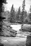 Minnesota North Shore River Flowing Stock Images