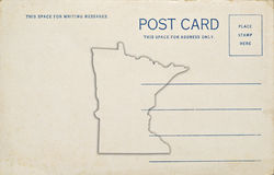 Minnesota Postcard Royalty Free Stock Photography