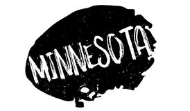 Minnesota rubber stamp royalty free illustration