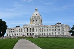 Minnesota State Capitol in St Paul Royalty Free Stock Photo