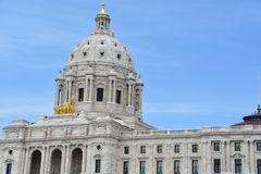 Minnesota State Capitol in St Paul Stock Image