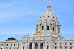 Minnesota State Capitol in St Paul Royalty Free Stock Image