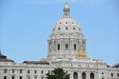 Minnesota State Capitol in St Paul Stock Images
