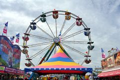 Minnesota State Fair. ST. PAUL - AUGUST 27:  The Ferris Wheel in the Midway at the Minnesota State Fair, as seen on August 27, 2011 in St. Paul Stock Photos