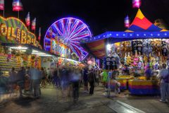 Minnesota State Fair in St. Paul stock image