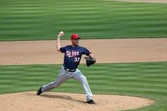 Minnesota Twins Pitcher Mike Pelfrey Stock Photography