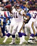 Minnesota Vikings de Daunte Culpepper Fotografía de archivo libre de regalías