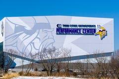 Minnesota Vikings Twin Cities Orthopedics Performance Center Royalty Free Stock Photo