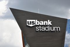 Minnesota Vikings US-Bank-Stadion in Minneapolis Lizenzfreies Stockbild