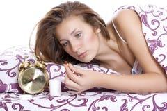 Minnestavla för sömnlöshet Royaltyfria Bilder