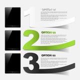 Minnestavlabegrepp: realistiska designbeståndsdelar Arkivbilder