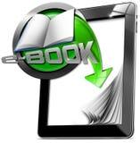 Minnestavladatorer - EBook royaltyfri illustrationer