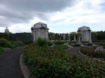 Minnet parkerar Dublin Ireland går Fotografering för Bildbyråer