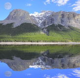 Minnewanka Lake. Royalty Free Stock Photo