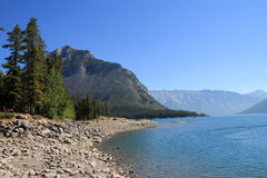 Minnewanka Lake Stock Image