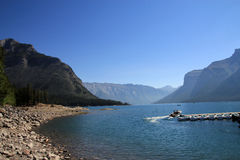 Minnewanka Lake Royalty Free Stock Image