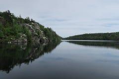 Minnewaska delstatsparksylt, sjö på berget arkivfoto