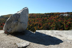 Minnewaska State Park. Patterson's Pellet, in Minnewaska State Park, part of  the Shawangunk mountain range Stock Photos