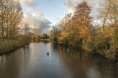 Minnewater Bruges images stock