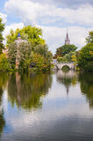 Minnewater Bruges Stock Photography